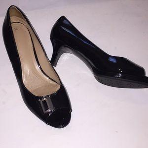 Naturalizer N5 Comfort Peep Toe Heels